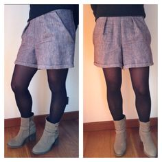 Gonna pantalone - handmade by LoreLà