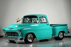 1955 Chevrolet Truck I would be in the happiest girl if this was mine .!:) ❤️❤️❤️❤️