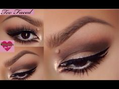 Too Faced Chocolate Bon Bon's Palette Tutorial & Contour - YouTube