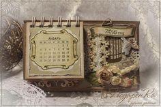 Шебби календарь - Скрапбукинг (бумажный) - Babyblog.ru