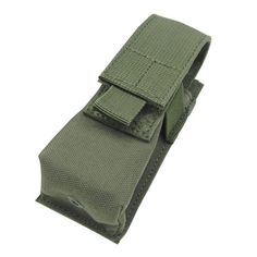 Single Flashlight-Tool Pouch Color- OD Green