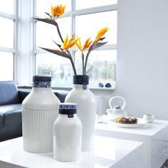 #Delfts #blauw #vaas #modern #design #porselein #aardewerk #keramiek