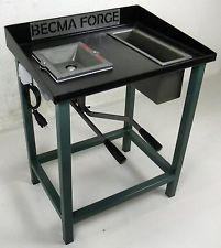 brake drum coal forge. becma blacksmiths coal forge with e-fan fr70 pro brake drum