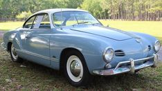Low Light Survivor: 1959 VW Karmann Ghia #USA #Survivors, #Volkswagen - https://barnfinds.com/low-light-survivor-1959-vw-karmann-ghia/