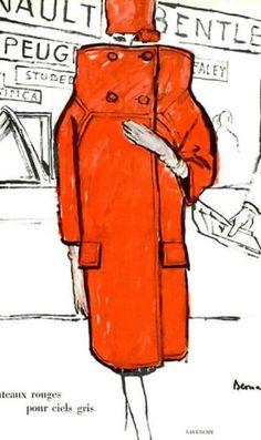 Givenchy late 50s by Bernard Blossac