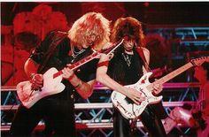 "Robbin ""King"" Crosby and Warren DeMartini - RATT 80s Hair Metal, Hair Metal Bands, 80s Hair Bands, Warren Demartini, Hard Rock Music, Joe Elliott, Judas Priest, Music Photo, Film Music Books"