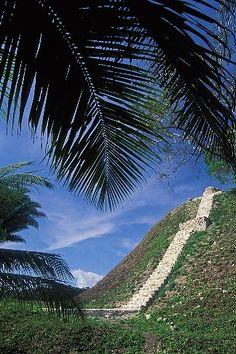 Belize, Mayan Sites, Pyramid, Altun Ha