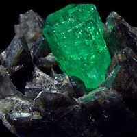 Emerald is a stone of hope and wisdom.