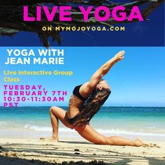 Join us for Jean Marie Johnson's first LIVE Class on MOJO Yoga. This class is available for all MOJO Members and the best part is you'll be able to interact with Jean Marie and get pointers and feedback directly from her. Tuesday February 7 2017 @10:30am - 11:30am PST   Not a MOJO Member yet? Start your free trial today and join us for live class on Monday and Tuesday this week at mymojoyoga.com (active link in our bio)!   #mymojoyoga #mojolive #practicelivewithmojo #practiceyoga #mojolife…