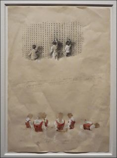 a journey in pixels: Michaël Borremans - As sweet as it gets - Expo Michael Borremans, Luc Tuymans, Collage Drawing, Painting Tattoo, Sketchbook Inspiration, Gravure, Figure Painting, Contemporary Paintings, Lovers Art