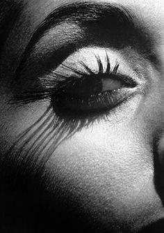 (♥) Lashes by Lothar Schmid, 1982 Classy Photography, Black And White Photography, Shadow Photography, Aesthetic Space, White Lips, Black And White Pictures, Shades Of Black, Light And Shadow, Human Body