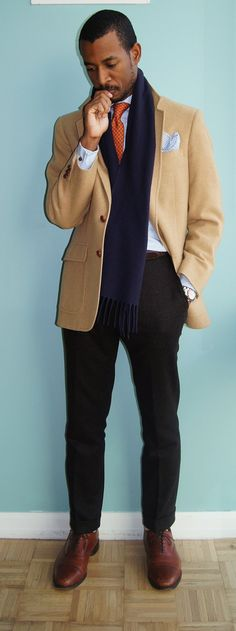 Beautiful outfit placed together in an even better way. Awesome. #fashion #style #mens