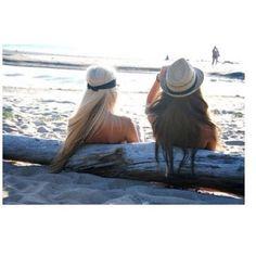 #beach #friends
