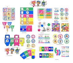 UmiZoomi party Umizoomi birthday party Team by blueangeldigitals