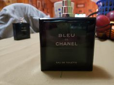 5 oz bleu de chanel eau de toilette..... full authentic tester bottle Chanel Men, Perfume Bottles, Toilets, Eau De Toilette, Blue, Perfume Bottle