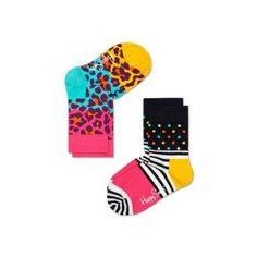 Infant/Toddler Block Leopard Socks