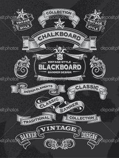 chalkboard drink menu design - Google Search