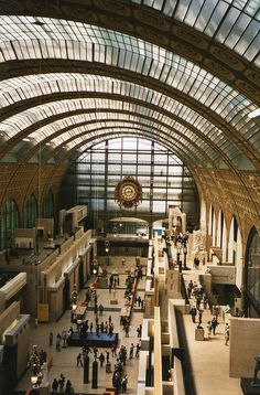 ysvoice:    | ♕ | Musée d'Orsay - Paris | by © jane_sanders (Love this museum, but someone tried to lift stuff out of my purse the last time I was there; be careful!)