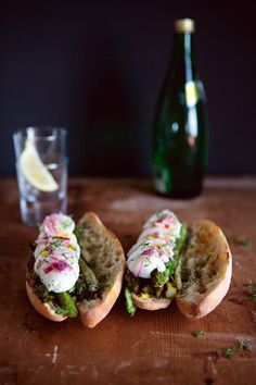 Recipe: Boiled Egg, Seared Asparagus  Pickled Onion Sandwich | Schon Food