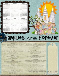 So You Think You Can Learn: 2014 Primary Theme - Families Are Forever