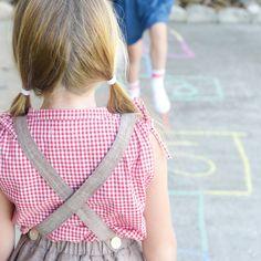 Girls Suspender Skirts | Olive Juice Collection