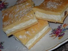 Tvarohové řezy velmi šťavnaté recept - TopRecepty.cz Czech Recipes, Russian Recipes, Gorgeous Cakes, Something Sweet, Nutella, Sweet Tooth, French Toast, Bakery, Cheesecake