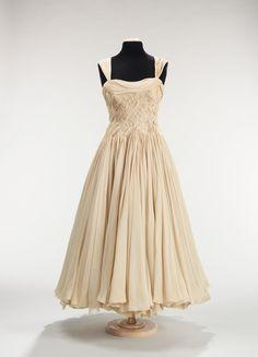 French Designer Jean Dessèsc. 1955 - Silk