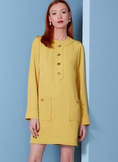 V1844 | Misses' and Misses' Petite Dress | Vogue Patterns