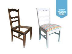 Mais uma pequena cadeira. Reciclagem para Cliente.