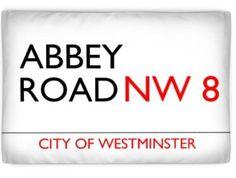 Kissenbezug mit eigenem Design, Abbey Road in London