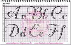 Abecedario caligrafía