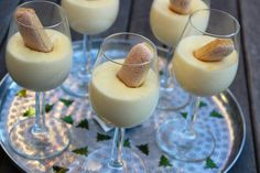 Mousse, Delicious Deserts, Love Food, Panna Cotta, Bacon, Food And Drink, Healthy, Cake, Ethnic Recipes