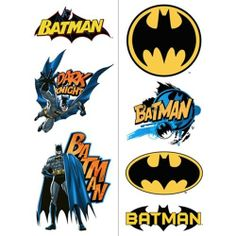 Batman Temporary Tattoos by HALLMARK *. $2.49. Made in China. Includes: 2 sheets of Batman Temporary Tattoos.. Each sheet contains 6 tattoos, for a total of 12 temporary tattoos. Sheets separate into 4 party favors.. Batman Party Temporary Tattoo Party Favors are great for any Batman celebration!