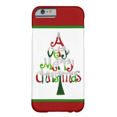 A Very Merry Christmas iPhone 6 Case