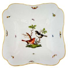 the birds and the bees china patterns Bird Patterns, China Patterns, Herend China, Birds And The Bees, Bird Crafts, Table Accessories, Vintage Plates, China Painting, Sea Birds