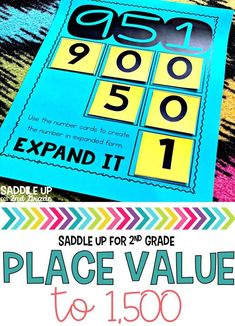 Place Value Activities Place Value Activities, Math Place Value, Place Values, Math Activities, Math Games, Place Value Foldable, Number Games, Math Classroom, Kindergarten Math