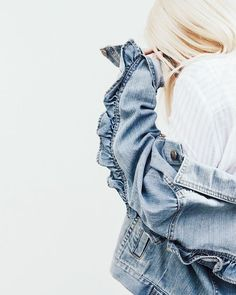 See why the Who What Wear collection Ruffle Denim Jacket is everything you need and more. Plus, get a behind-the-seams look.