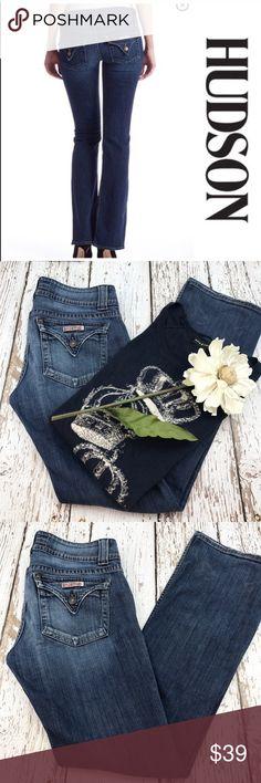 """💕SALE💕Hudson Premium Denim Jeans Fabulous 💕SALE💕Hudson Premium Denim Jeans 98% Cotton 2% Elastin 33"""" Inseam Hudson Jeans Jeans Boot Cut"""