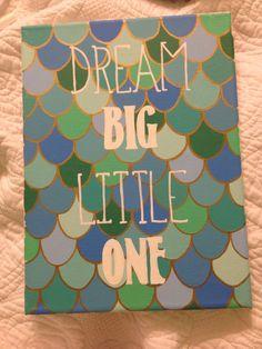 sorority canvas I painted for my little. Delta Phi Epsilon, Kappa Alpha Theta, Tri Delta, Alpha Chi, Phi Mu, Kappa Delta, Big Little Gifts, Little Presents, Little Mermaid Room
