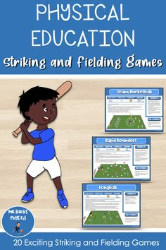 Physical Education Activities, Sports Activities, Ed Game, Softball, Baseball, Pe Lessons, Typing Games, Stunts, Cricket
