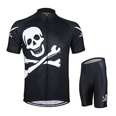 PG Mens Cycling Short Sleeves Jersey Bike Bicycle Sets Shirts Wear Suits Uniforms L *** Check this awesome product by going to the link at the image.Note:It is affiliate link to Amazon.