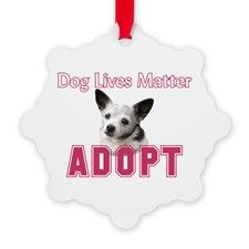 Dog Lives Matter Ornament