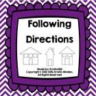 This product contains the following:  -pages 3-4: Homework/classwork page for following 1 and 2 step directions with attributes (same pictures) -pa...
