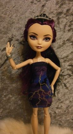 Mini dress for monster high and ever after high by moonsight68, $7.00