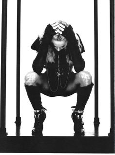The Photoshoot of the Week: Madonna by Steven Klein, Vogue Brazil/Get Stupid - 2008 - Madonna Art Vision Madonna Images, Madonna Pictures, Lady Madonna, Madonna Art, Madonna Tattoo, Justin Timberlake, Divas, Magazine Vogue, Alexander Mcqueen