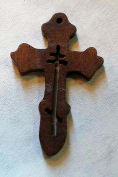 1 dozen Orthodox Crosses made of wood - great for Sunday School class!