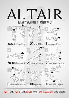 Altair Workout | neilarey.com | #fitness #bodyweight
