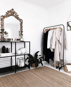 Find images and videos about fashion, home and room on We Heart It - the app to get lost in what you love. Aesthetic Room Decor, Dream Rooms, My New Room, Home Decor Bedroom, House Rooms, Home Decor Inspiration, Home Interior Design, Nordic Interior, Style Clothes