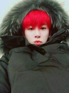 Wonho lindo, por favor, PARA DE PINTAR ESSE CABELO