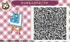 ☆ winter snow Mofu waterway TILE#6<-- gose with ☆ design Yukishiba & Heart Eye style ☆ , Ice cube road, winter softly stairs, ☆ snow and rabbit starlit sky waterway :)